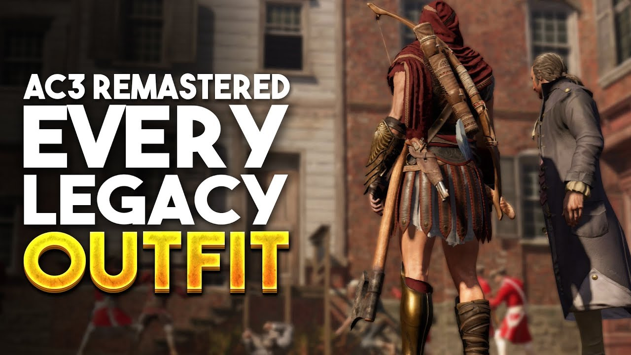 Ac3 Remastered All Legacy Outfits How To Get Them Assassins