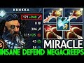 Miracle Kunkka Pro Player 58 Min Defend Mega Creeps Unbelievable Game 7 21 Dota 2 mp3