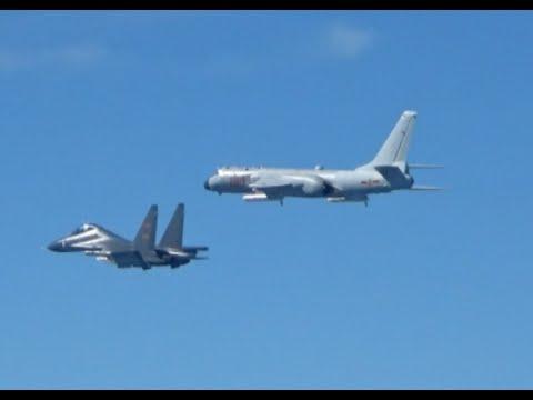 Chinese Air Force Flies 40 Plus Warplanes over Miyako Strait to Test Combat Ability: Spokesman
