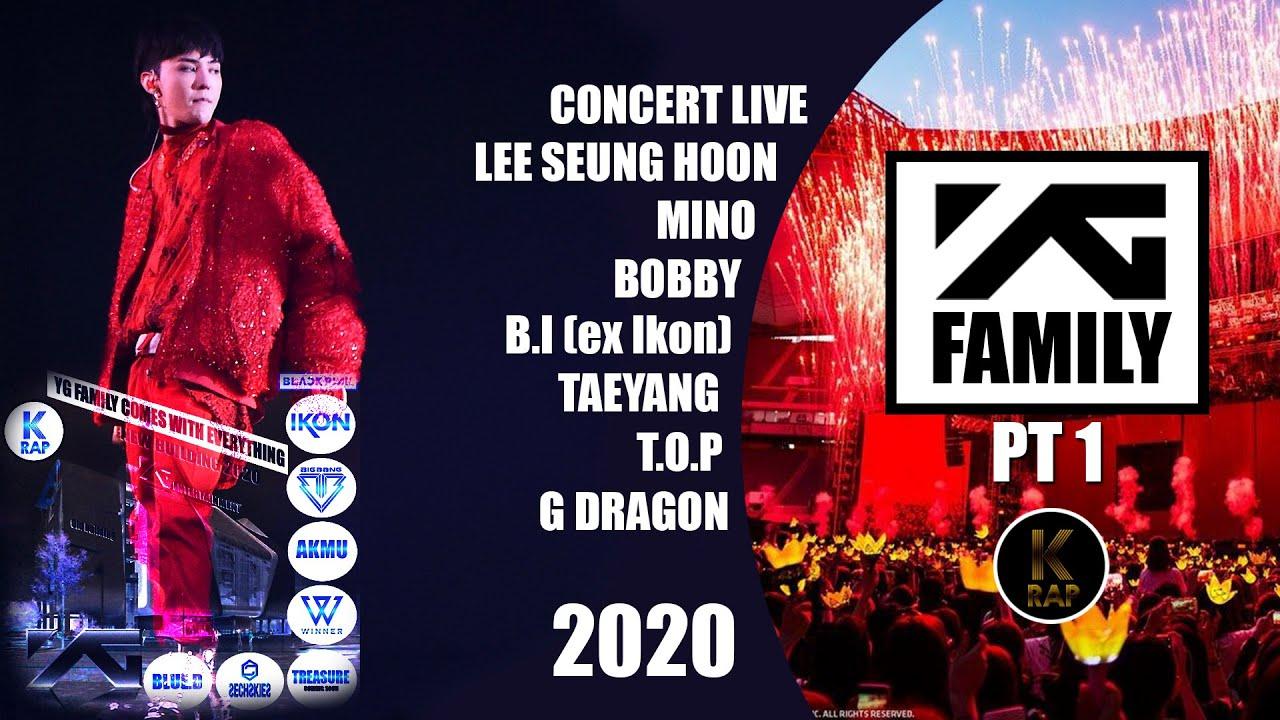 2011 YG FAMILY CONCERT [ORIGINAL POSTER] *NEW* 2NE1