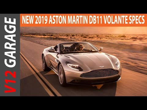 2019 Aston Martin DB11 Volante - Price and Exterior