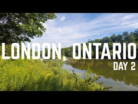 A Relaxing Day in London | Ontario Travel Vlog