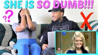 TOP DUMBEST GAME SHOW ANSWERS OF ALL TIME REACTION!!!