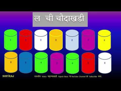 य,र,ल,व,श ची चौदाखडी-Rajesh Buva Y,R,L,V,SH Chi Choudakhadi