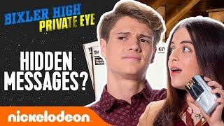 HIDDEN Easter Eggs from Bixler High Private Eye w/ Jace Norman & More! | Nick