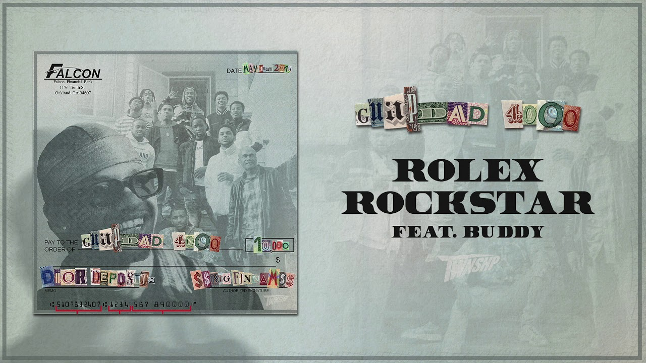 Guapdad 4000 - Rolex Rockstar (feat. Buddy) [Official Audio]