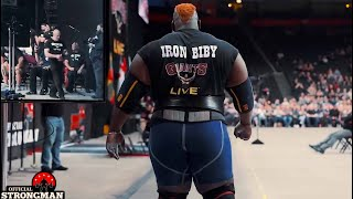 Download RECORD ATTEMPT | Iron Biby tries to break Axle Press WR Mp3 and Videos