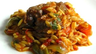 Lamb Stew With Orzo Pasta How To Cook Food Recipe