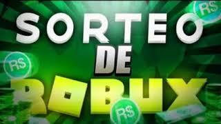 SORTEANDO ROBUX ENTRA YA!! [ROBLOX]