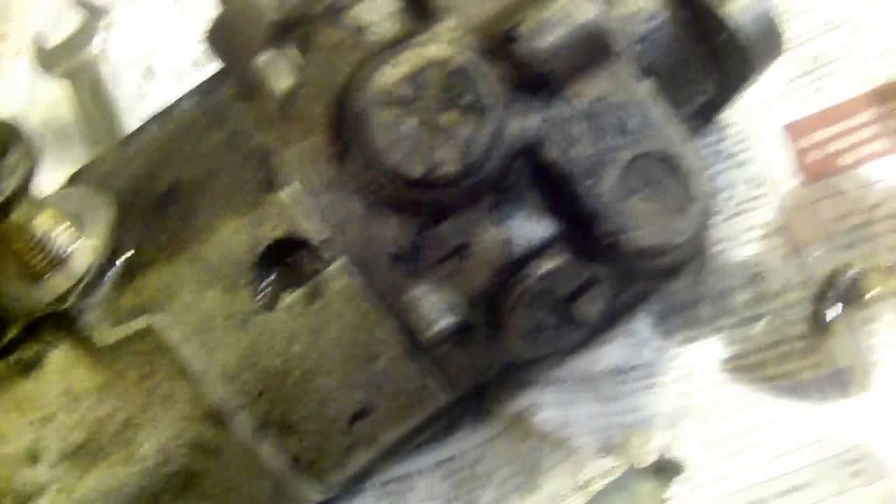 Ремонт насоса гидроусилителя руля на AUDI 100