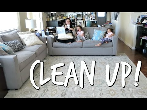 Thumbnail: Cleaning Up - April 21, 2017 - ItsJudysLife Vlogs