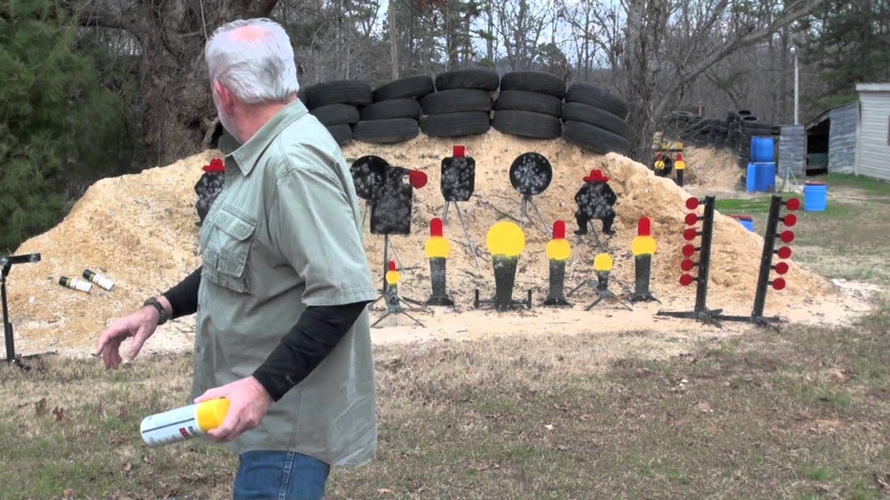 How To Paint Steel Shooting Targets - YouTube