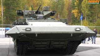 t 15 bmp armata armoured infantry fighting vehicle technical data sheet details russia russian army