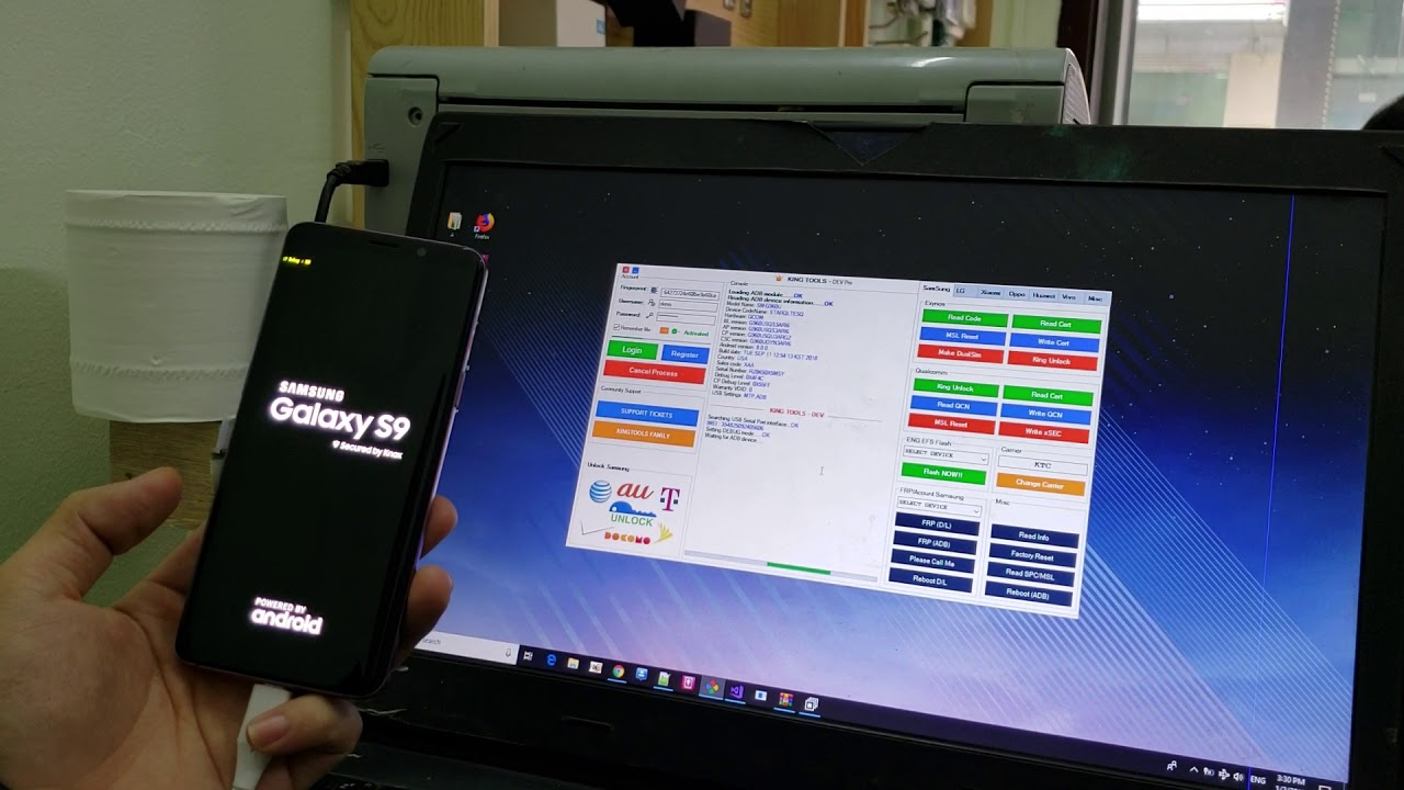 KingTools - Unlock S9 G960U T-Mobile Done by KingTools   King Unlock