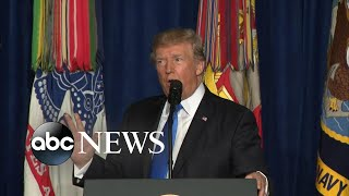 Trump unveils new policy for US presence in Afghanistan