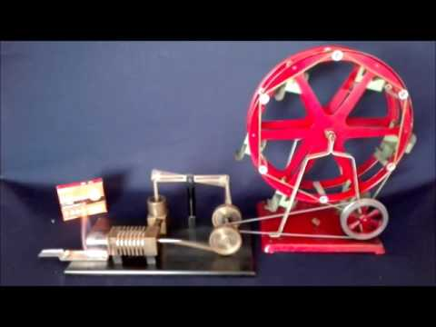 Solar Stirling Beam Engine & Empire 47 Ferriswheel