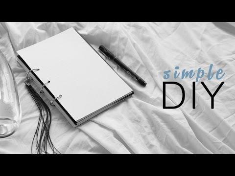 DIY Combined Diary + Planner Notebook // Rachel Aust