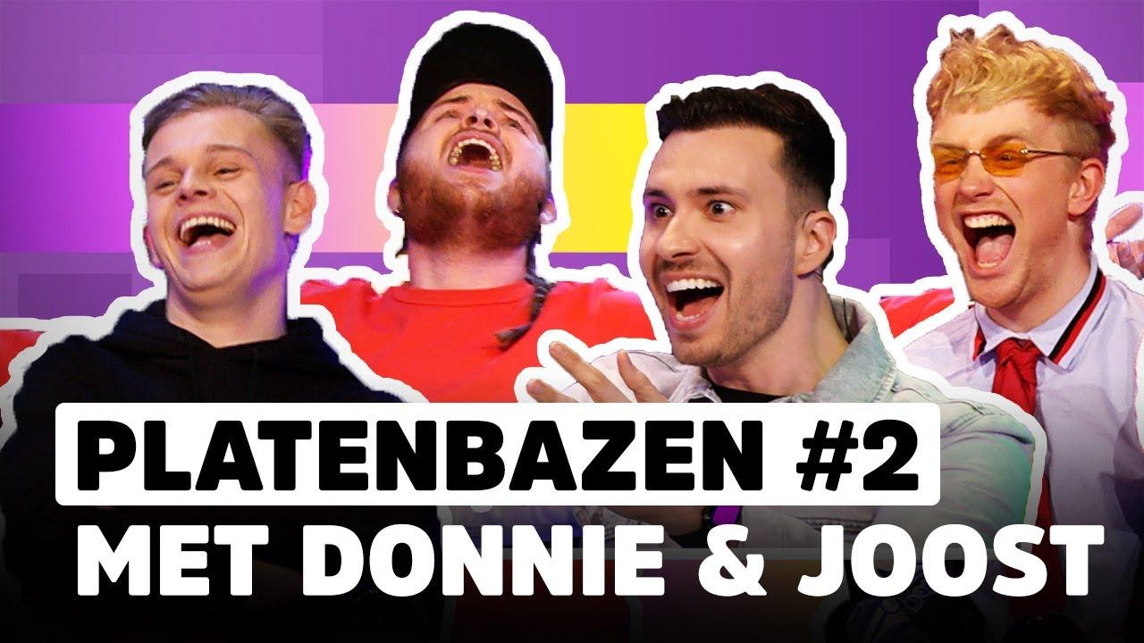 Donnie & Joost geven álles tegen Dennis Schouten en Rutger Vink! | PLATENBAZEN #2
