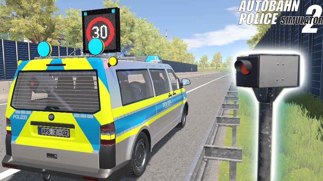 Autobahn Police Simulator 2 - Speed Cameras! 4K