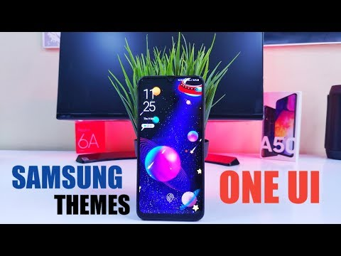 Best Samsung Themes For Your Samsung Galaxy A50 - One UI Customization