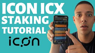 Icon ICX Staking Tutorial   Step by Step
