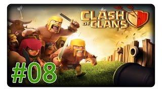 Clash of Clans #08 Ressourcen erkämpfen «» Let's Play | Deutsch