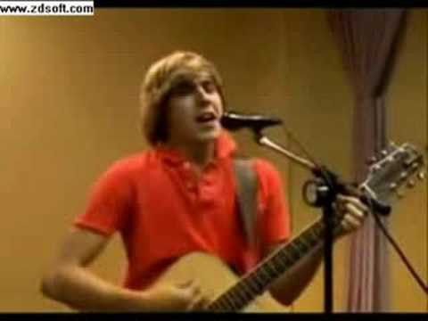 Cody Linley singing Wonderwall