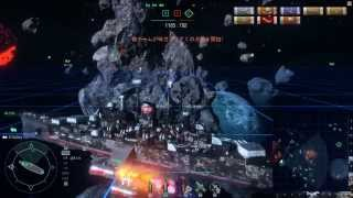 World of Warships Galaxy Space Cruiser