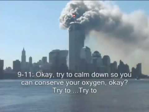 World Trade Center  9/11 - Man trapped calls 911