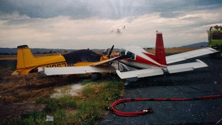 Taxi Accident Aftermath - Grumman Style