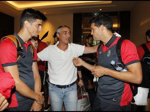 L'Espanyol arriba a Jakarta
