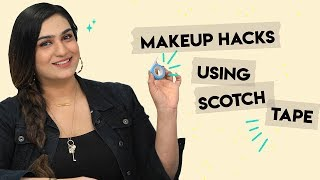 6 Scotch Tape Makeup Hacks