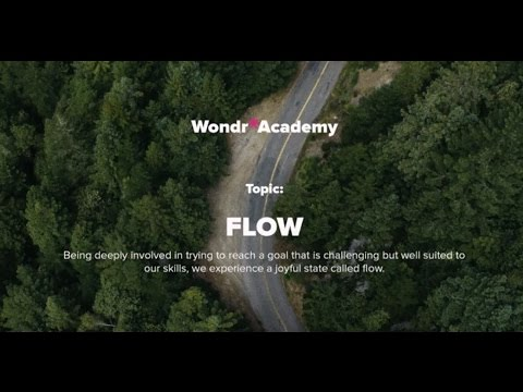 Talk 6 Topic: Flow - Dr Philip Hopley, MBBS (Dist), MRCPsych
