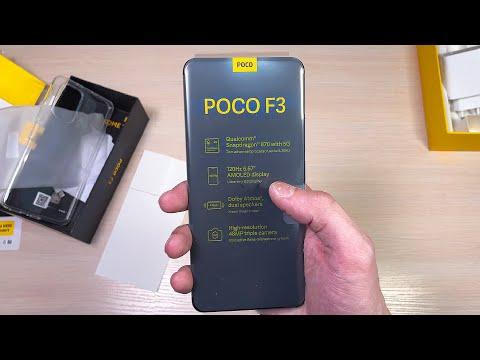POCO F3 смартфон с Aliexpress (распаковка и пару слов про растаможку телефона с алиэкспресс)