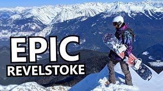 Epic Big Mountain Snowboarding - Revelstoke, Canada