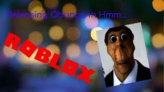 Releasing Obunga in Hmm... (Roblox)