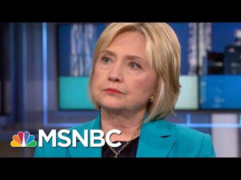 Hillary Rodham Clinton Envisions Packed Agenda If Democrats Retake Congress | Rachel Maddow | MSNBC