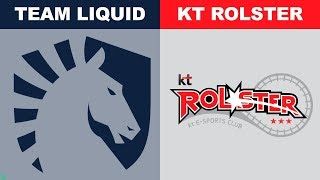 Liquid vs KT - Worlds 2018 Group Stage Day 7 - TL vs kt Rolster