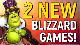 SECRETS! Blizzards Two New Game Projects: Genre, Platforms & More!