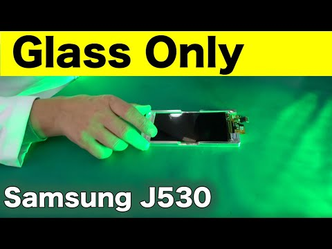 Samsung J530 Glass Only Replacement - Complete guide 4K📱