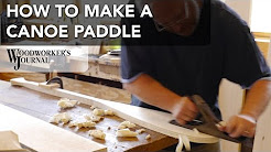 How to Make a Canoe Paddle at North House Folk School