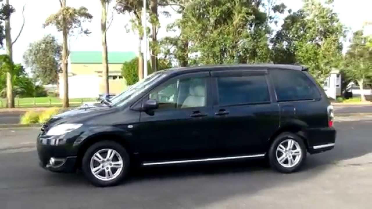 Mazda 2 Seater >> Mazda MPV Sport Black 2004 2.3L Auto - YouTube