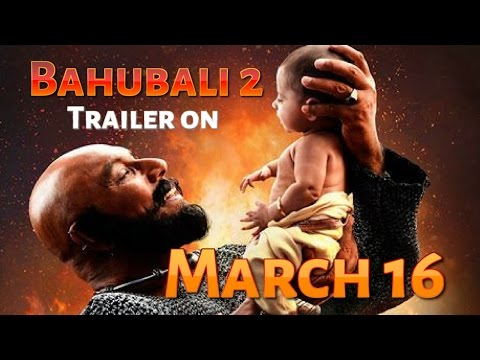 Thumbnail: Bahubali 2 trailer release on March16I Bahubali 2 Latest Poster I Baahubali2 I SS Rajamouli I Prabas