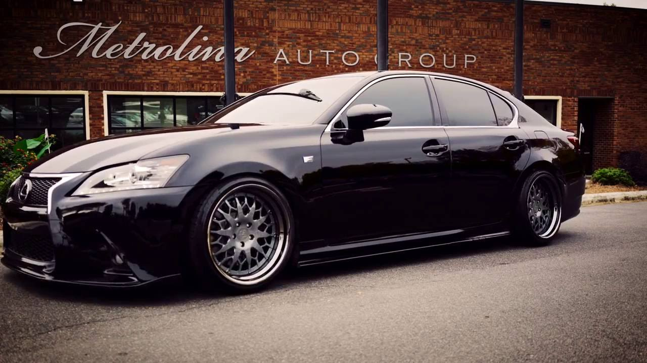 Bagged 2013 lexus gs 350 f sport youtube bagged 2013 lexus gs 350 f sport sciox Images