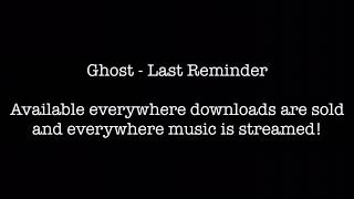 Ghost - Reload