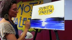 Pinot's Palette Paradise Valley - How do you streak when you paint and drink wine?