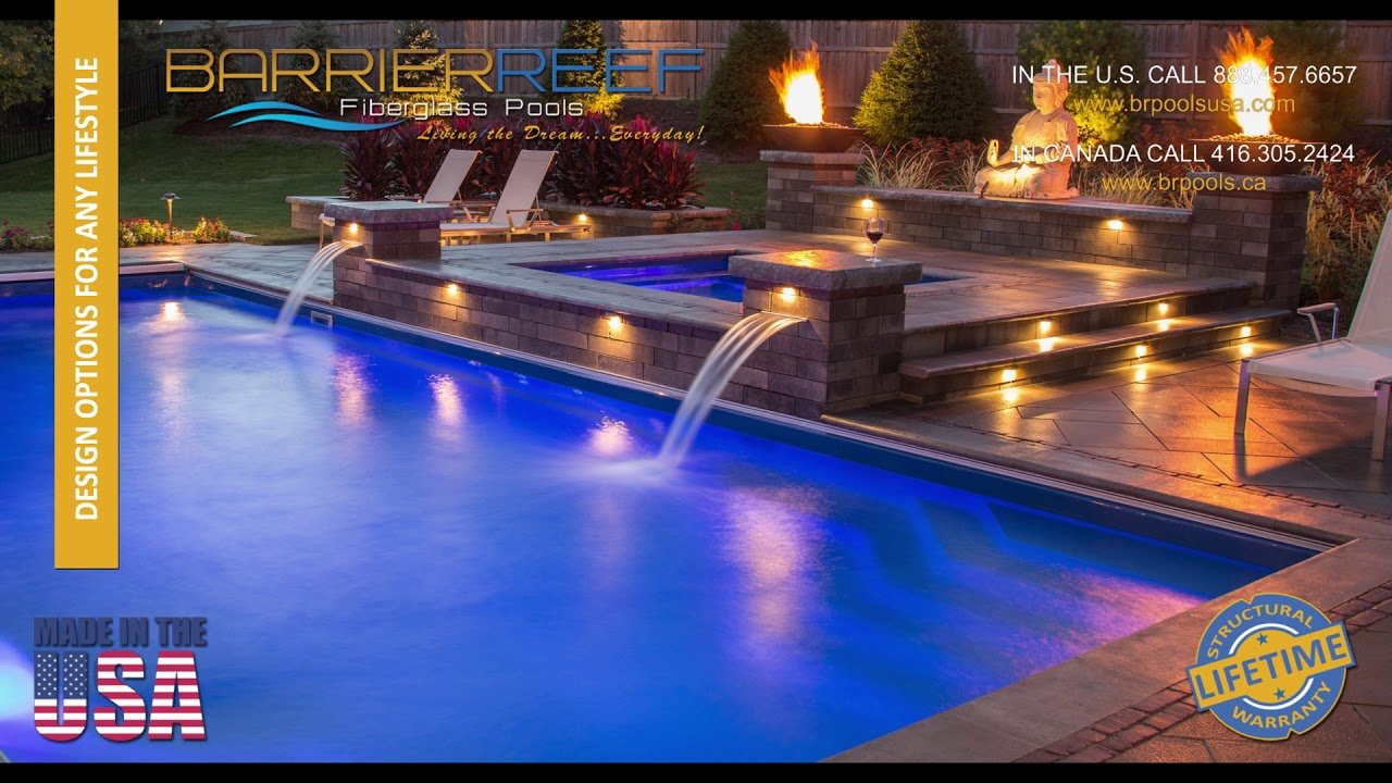 How Much Do Fiberglass Pools Cost Video Youtube