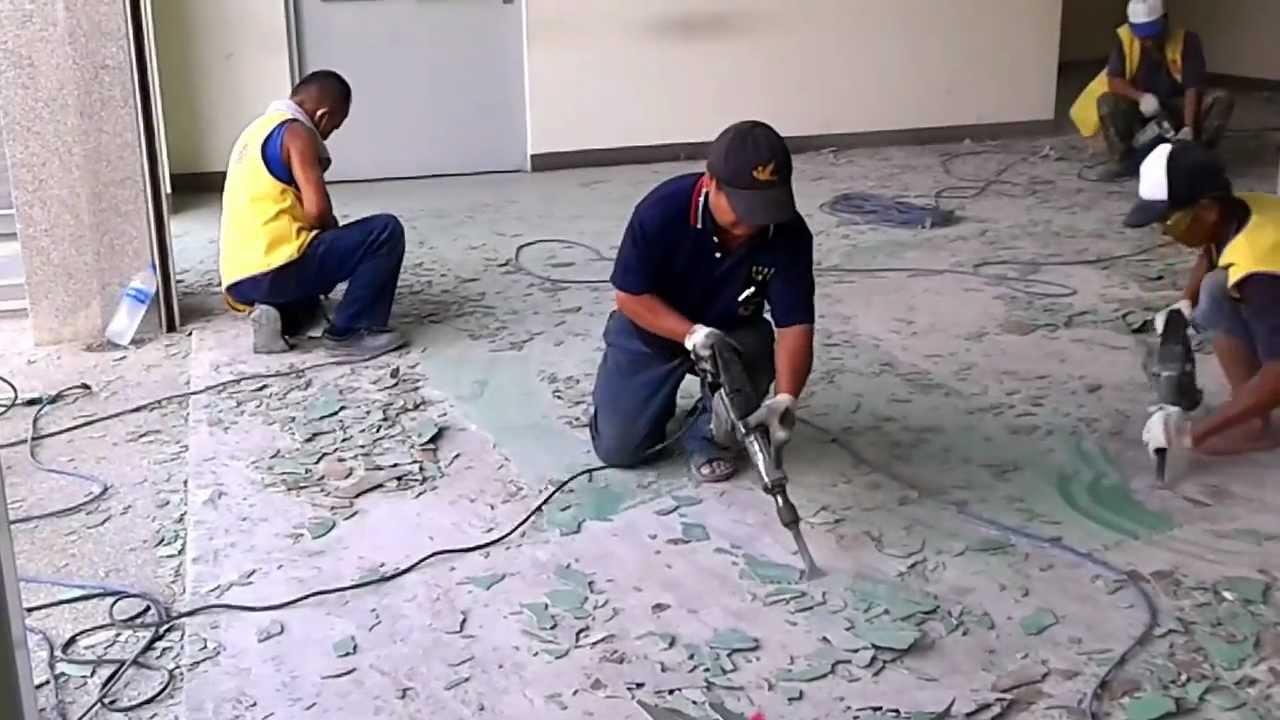 EPOXY地板施工環氧樹脂工程臺中EPOXY環氧樹脂地坪打除翻修工程 0932518699 - YouTube