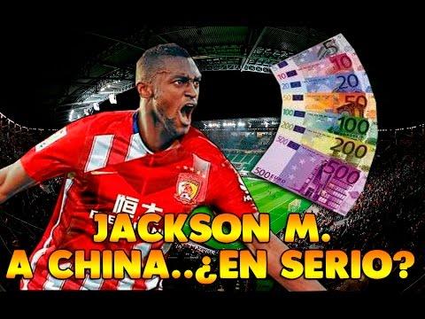 JACKSON MARTINEZ se va al Guangzhou chino. ADIÓS AL FÚTBOL DE ÉLITE.