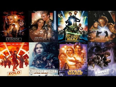How To Watch Star Wars In Chronological Order Updated With Solo Youtube